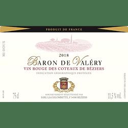 2018 Baron de Valéry