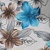 Floreado azul