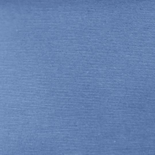 Lona azul.