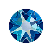 Cristales Swarovski SS5 Capri Blue AB