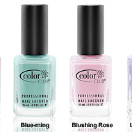 Esmaltes Color Club Colección Blossoming
