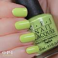 Esmaltes OPI Colección Neon 2014