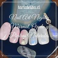 Nail Art Nights: Mármol, ópalo y piedras naturales