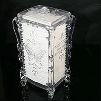 Dispensador acrílico de algodón
