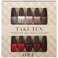 Set OPI Take Ten
