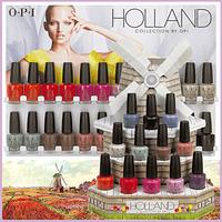 Esmaltes OPI Coleccion Holland