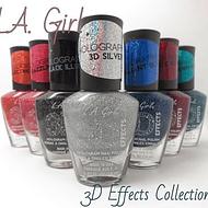 Esmaltes L.A. Girl Colección 3D Effects