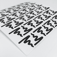 Vinilos TwinkedT Scribble 48 unidades