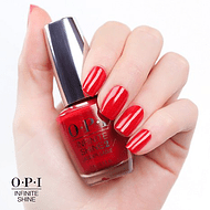 Esmalte OPI Infinite Shine - Unequivocaly Crimson