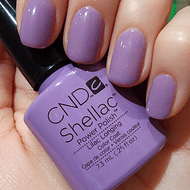 Esmalte permanente CND Shellac Lilac Longing 7.3 ml