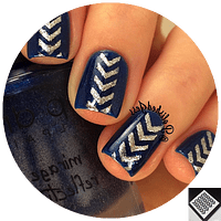 Stencil TwinkledT Single Chevron 16 unidades