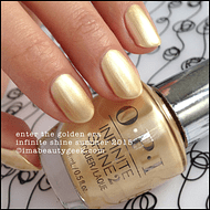 Esmalte OPI Infinite Shine - Enter the Golden Era