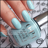 Esmalte OPI Infinite Shine - Eternally Turquoise