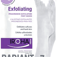 Calcetines exfoliantes progresivos para pies Iroha Nature