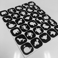 Vinilos TwinkledT Animal 30 unidades