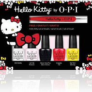 Set Miniesmaltes OPI Hello Kitty