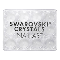 Swarovski Crystals Nail Art - Caja organizadora 12 compartimentos