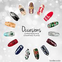 Set de placas Bundle Monster colección Occasions: Christmas + NYE