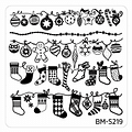 Set de placas Bundle Monster colección Occasions: Christmas + NYE