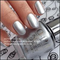 Esmalte OPI Infinite Shine - Silver on Ice