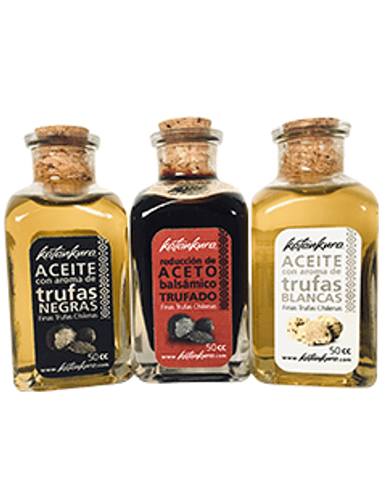 Pack 3 productos trufados 50 ml