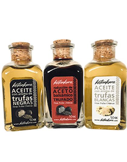 Pack 3 productos trufados 50 ml
