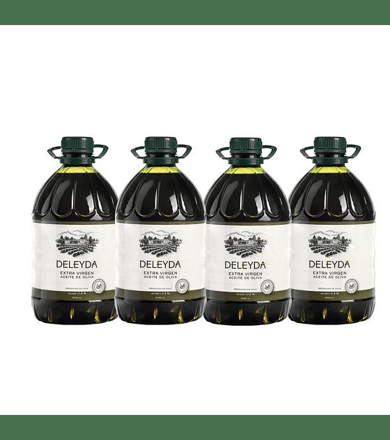 4 Bidones Aceite de Oliva Classic 3 litros