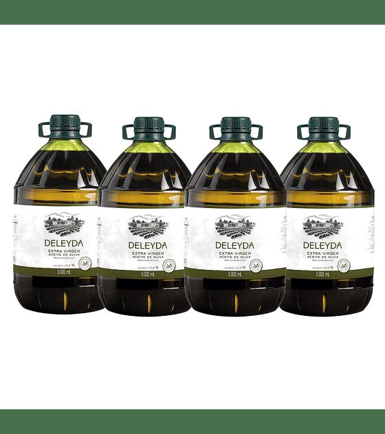 4 Bidones Aceite de Oliva Classic 5 litros