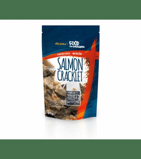 Salmon Cracklet Merkén