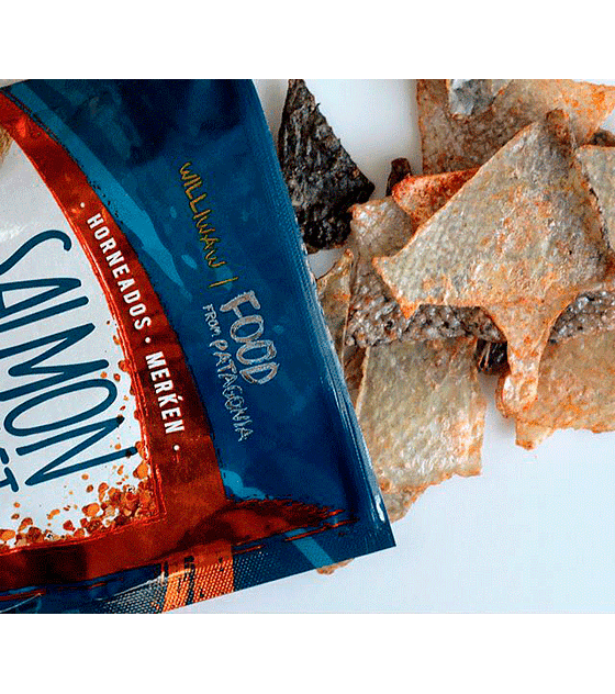 Salmon Cracklet Merkén
