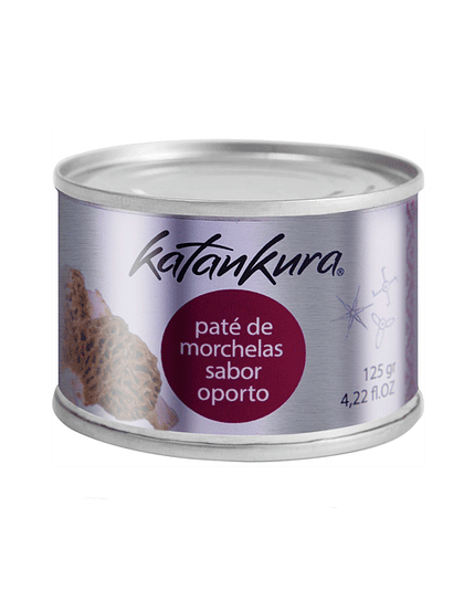 Katankura Paté de Morchellas Sabor a Oporto