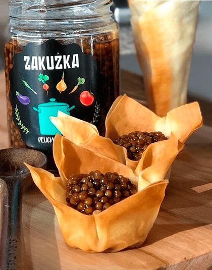 Caviar de Mostaza Spicy