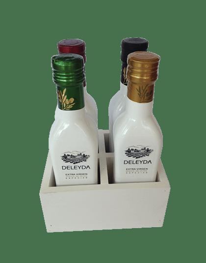 Pack 4 Deleyda + Alcuza Blanca