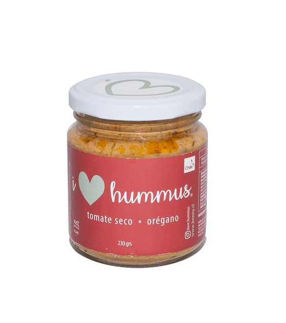 I Love Hummus - Tomate seco oregano 230 gr