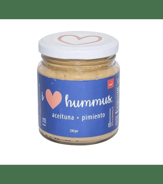 I Love Hummus - Aceituna Pimiento 230 gr