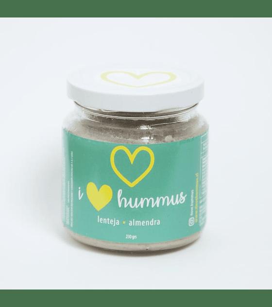 I Love Hummus - Lenteja almendra