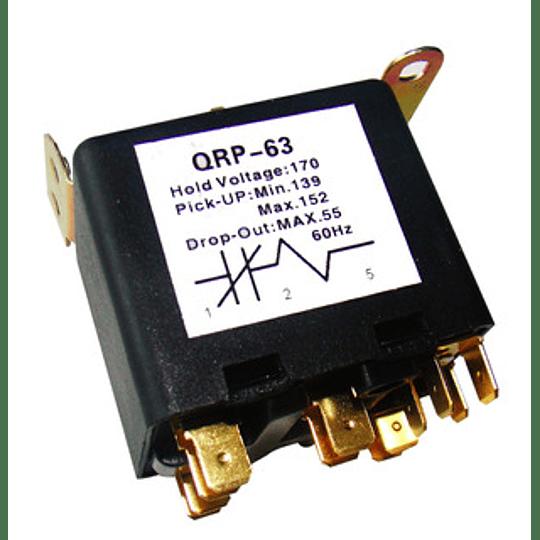 RELE DE POTENCIA QRP-63 1 A 3HP 220V