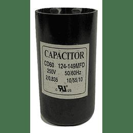 CAPACITOR DE PARTIDA 330v 124-149 MFD