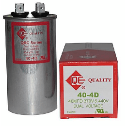 CAPACITOR QUALTY 370V 40 MFD