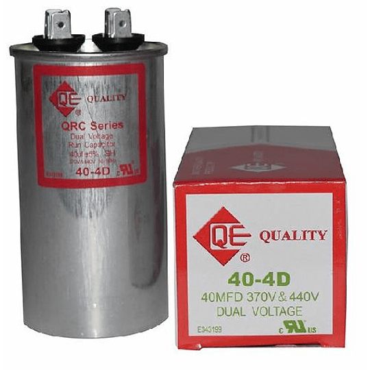 CAPACITOR QUALTY 370V 40 MFD