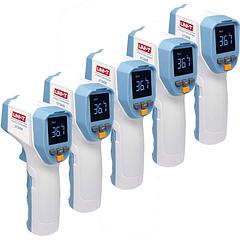 5 unidades - Termómetro Infrarrojo Láser sin contacto uso profesional UNI-T UT 305 R