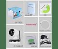 CAMARA IP WIFI HD 960P TEC-HW51 - SLOT MICRO SD - ZOOM 3X