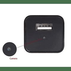 CÁMARA ESPÍA 1080P CARGADOR - WIFI - SLOT MICROSD 128GB