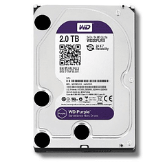 WD DISCO DURO 2TB SATA3 5400 RPM 64MB PURPLE