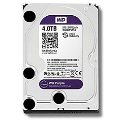 WD DISCO DURO 4TB SATA3 5400 RPM 64MB PURPLE