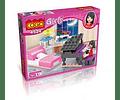 Dormitorio Musical Cogo compatible con Lego - Tec-Toys