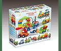 Set de Vehículos compatible con Lego Duplo - Tec-Toys
