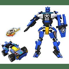 Auto-Robot 2 en 1 Cogo compatible con Lego - Tec-Toys