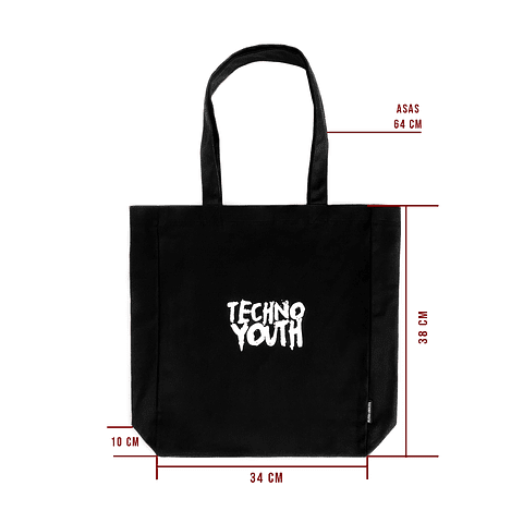 TOTEBAG TECHNO YOUTH LOGO