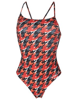 TRA. BAÑO TRAINING COSTUME HOUNDSTOOTH